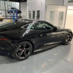 This F-Type Jag was the first job done in our new bodyshop